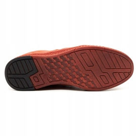 Joker Men's leather casual shoes S21 / 2 red 1