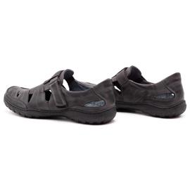 Polbut Men's openwork 260 gray summer shoes grey 8