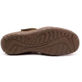 Polbut Men's openwork 260 shoes for summer, brown 1