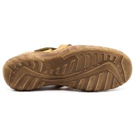 Polbut Men's openwork shoes 237 for summer beige 3