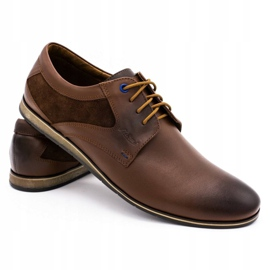 Lukas Casual men's shoes 275LU brown 5