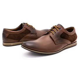 Lukas Casual men's shoes 275LU brown 7
