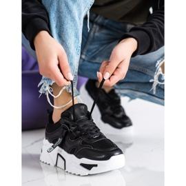 Sweet Shoes Fashion Sport Sneakers black 2