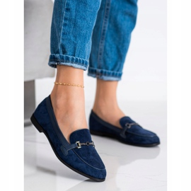 Coura Moccasins With Ornament navy 1