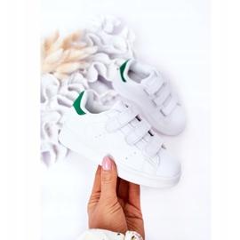 FRROCK Youth Sport Footwear With Velcro White Fifi green 7