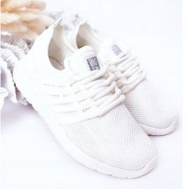 Children's Sport Shoes Sneakers Big Star HH374215 White 2