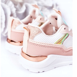 Children's Sport Shoes Sneakers Pink Game Time white 1