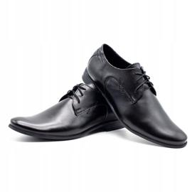 Polbut Black men's formal shoes C9 4