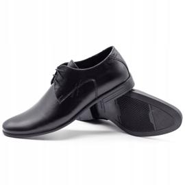 Polbut Black men's formal shoes C9 2