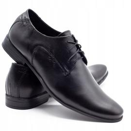 Polbut Black men's formal shoes C9 3