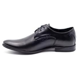 Polbut Black men's formal shoes C9 1