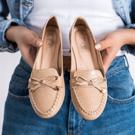 Kayla Casual Eco Leather Loafers brown 2