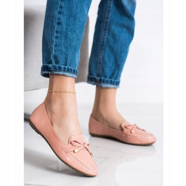 Kayla Casual Eco Leather Loafers pink 3