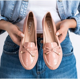 Kayla Casual Eco Leather Loafers pink 4