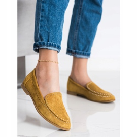Coura Classic Suede Lords yellow 1