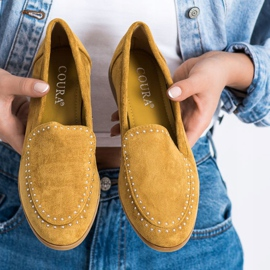 Coura Classic Suede Lords yellow 3