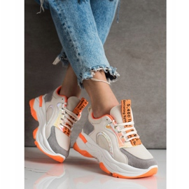 Sneakers on the FASHION platform multicolored 2