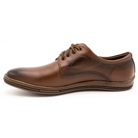 Lukas Leather shoes for men 295LU brown 2