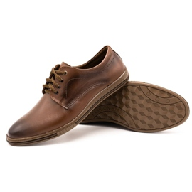 Lukas Leather shoes for men 295LU brown 4
