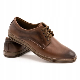 Lukas Leather shoes for men 295LU brown 5