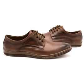 Lukas Leather shoes for men 295LU brown 6
