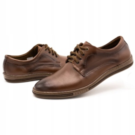 Lukas Leather shoes for men 295LU brown 7