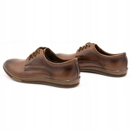 Lukas Leather shoes for men 295LU brown 8