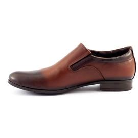 Olivier Men's formal, slip-on shoes 430 brown 1