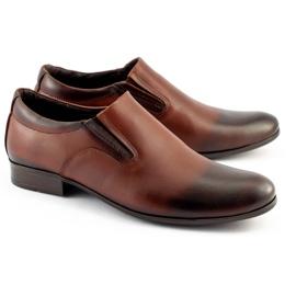 Olivier Men's formal, slip-on shoes 430 brown 2