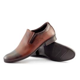 Olivier Men's formal, slip-on shoes 430 brown 3