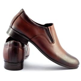 Olivier Men's formal, slip-on shoes 430 brown 4