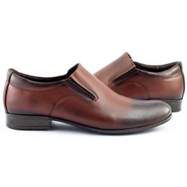 Olivier Men's formal, slip-on shoes 430 brown 5