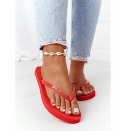 Women's flip-flops Big Star FF274A611 Red 1