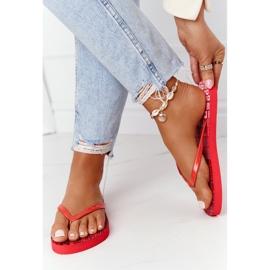 Women's Flip-flops Big Star FF274A305 Red 2