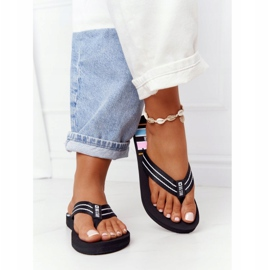 Women's Flip-flops Big Star HH274A057 Black 4