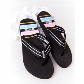 Women's Flip-flops Big Star HH274A057 Black 5