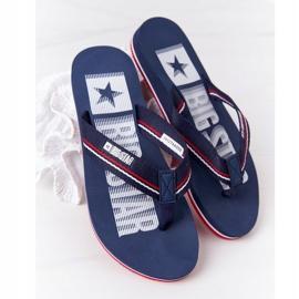 Women's Flip-flops Big Star HH274A059 Navy Blue 1