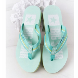 Women's Flip-flops Big Star HH274A061 Light green 1