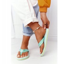Women's Flip-flops Big Star HH274A061 Light green 3