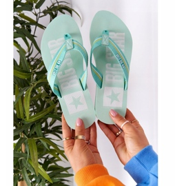 Women's Flip-flops Big Star HH274A061 Light green 4