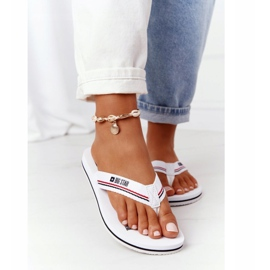 Women's Flip-flops Big Star HH274A062 White 2