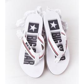 Women's Flip-flops Big Star HH274A062 White 1
