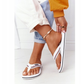 Women's Flip-flops Big Star HH274A062 White 3