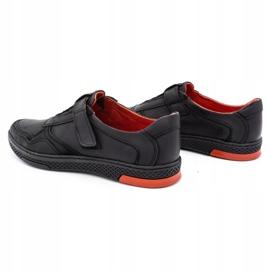 Polbut Men's casual leather shoes 2102 black 5