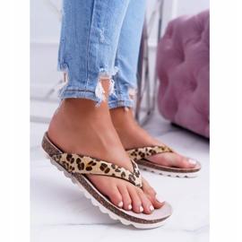 Flip-flops On Cork Lu Boo Leopard brown 3