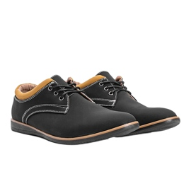 Black men's shoes from Melvin 1