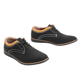 Black men's shoes from Melvin 2
