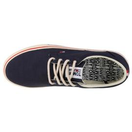 Tommy Hilfiger Jeans Textile Sneaker M EM0EM00001-006 shoes navy blue 2
