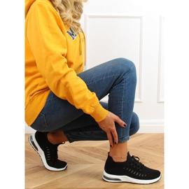 Black sports socks JHY90820 Black 2
