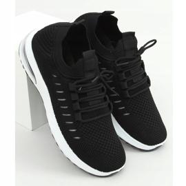 Black sports socks JHY90820 Black 1
